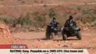 Atv Television Adventure - Gemini Bridges, Moab, Ut