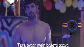Tere ishq mein main tha jiya//whatsaap love status