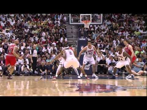05.08.2011 - D-Rose @ Atlanta Hawks - 2011 Playoffs Game 4