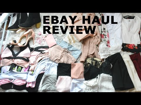 4846f431a5fcdc EBAY HAUL // Everything i've ever bought from ebay // REVIEWS // what to  buy what not to buy