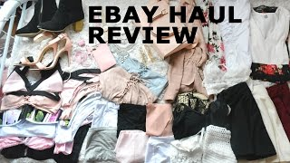 EBAY HAUL // Everything i've ever bought from ebay // REVIEWS // what to buy what not to buy