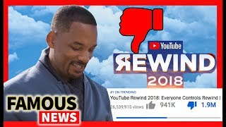 YouTube Rewind 2018 Dislike Button Explodes & YouTubers are PISSED | Famous News