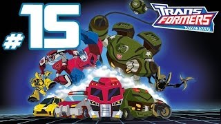 Transformers Animated - PART 15 - Lockdown Boss Fight!!!