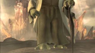 Star Wars Yoda. Darth Vader  & StarKiller (Soul Calibur 4)