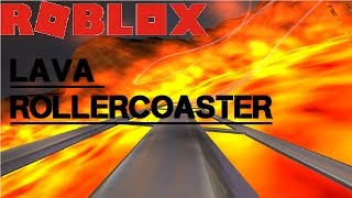 I'M HULK ON A LAVA ROLLERCOASTER? | ROBLOX