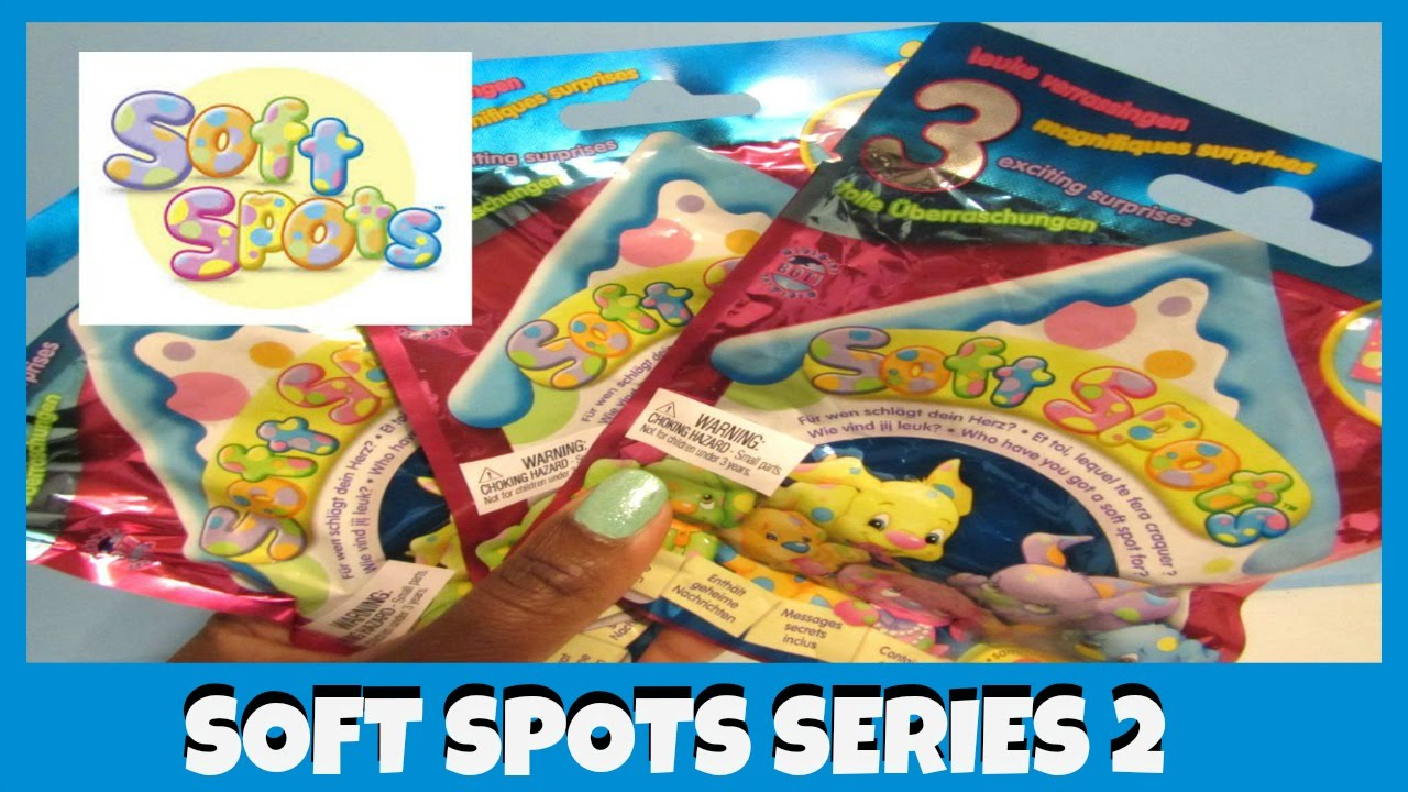 Smooshy Mushy Blind Bags Series 2 : Soft Spots - Puppy - Surprise - Series 2 Blind Bags - YouTube
