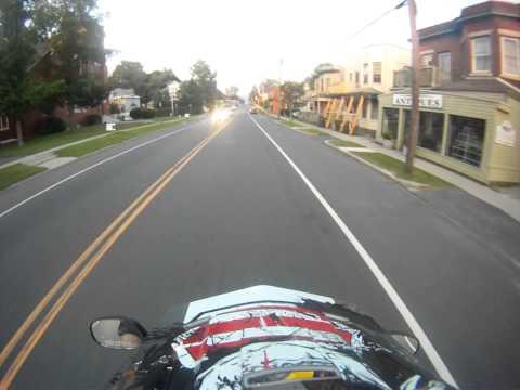 A scooter ride around Pittsfield Massachusetts summer 2013