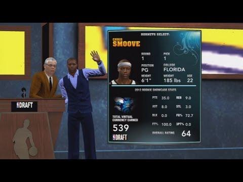 NBA 2K13 My Career - Chris Smoove #1 Draft Pick