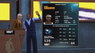 NBA 2K13 My Career - Chris Smoove #1 Draft Pick
