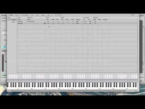 Round Robin Alternating Samples in EXS24 Logic Pro 9 - YouTube