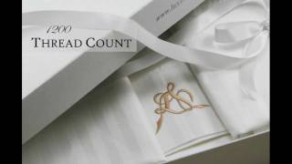 Valentino 1200 thread count Egyptian Cotton Sheets by Luxor Linens