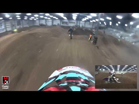 HardlineMX - GoPro - Cedar Lake Round 3 Open A Moto #2 (Dylan Wolff)