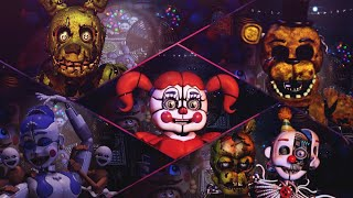 LOS AFTON - Five Nights at Freddy's Ultimate Custom Night