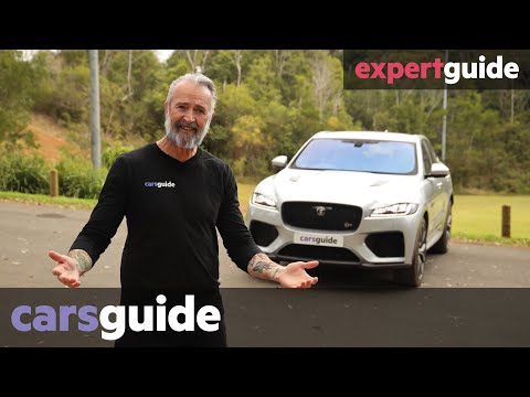 Jaguar F-Pace SVR 2020 Review