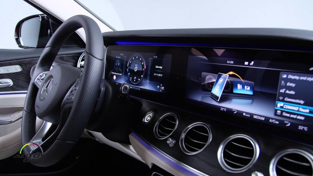 2017 Mercedes Benz E Class Interior Teaser Youtube