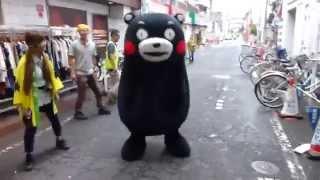 2014/06/25@板橋区大山ハッピーロード商店街。2回のステージ(八代・とれたて村・ハッピースクエアの応援、お料理、アスパラを茹でる)を終えて...