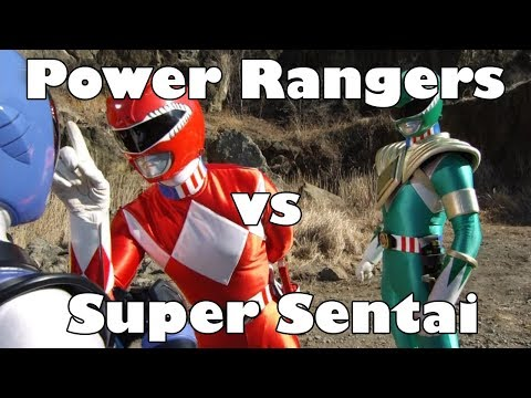 Dosm's Rambles: Power Rangers Vs. Super Sentai Series