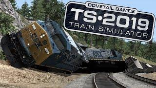 Train Simulator 2019 - Crash Compilation #1