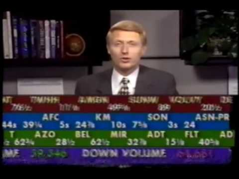Stock Market Observer footage (November 10, 1995)