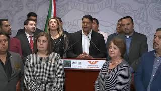 Conferencia de prensa | MC y alcaldes mayores | 09/10/19