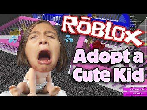 ROBLOX: ADOPT AND RAISE A CUTE KID!!! Gaming with Jillian
