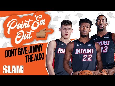Would YOU Wear a Romper? The Miami Heat Are TOO FUNNY 😂 | SLAM Point 'Em Out