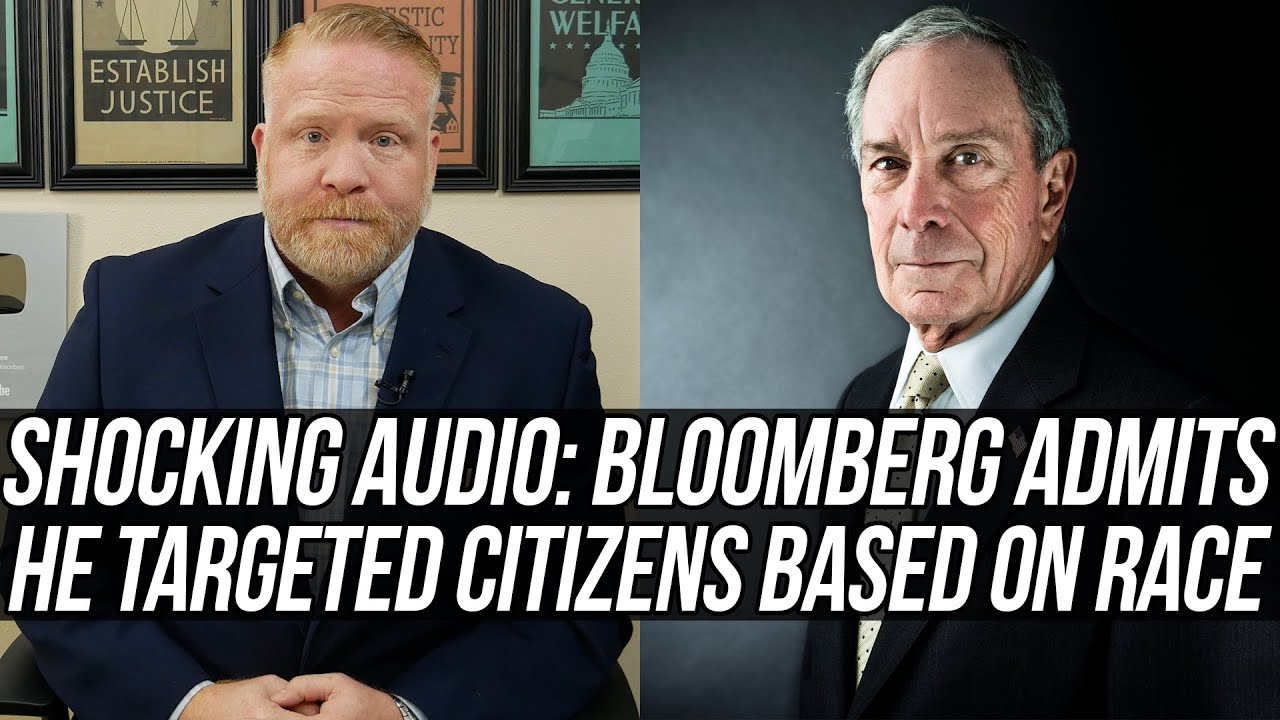 "MIKE BLOOMBERG ON TAPE: If Black Kids Fit the Description, ""Throw 'Em Against the Wall &am"