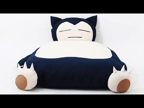 Snorlax Bed!! -- Game LÜT #24
