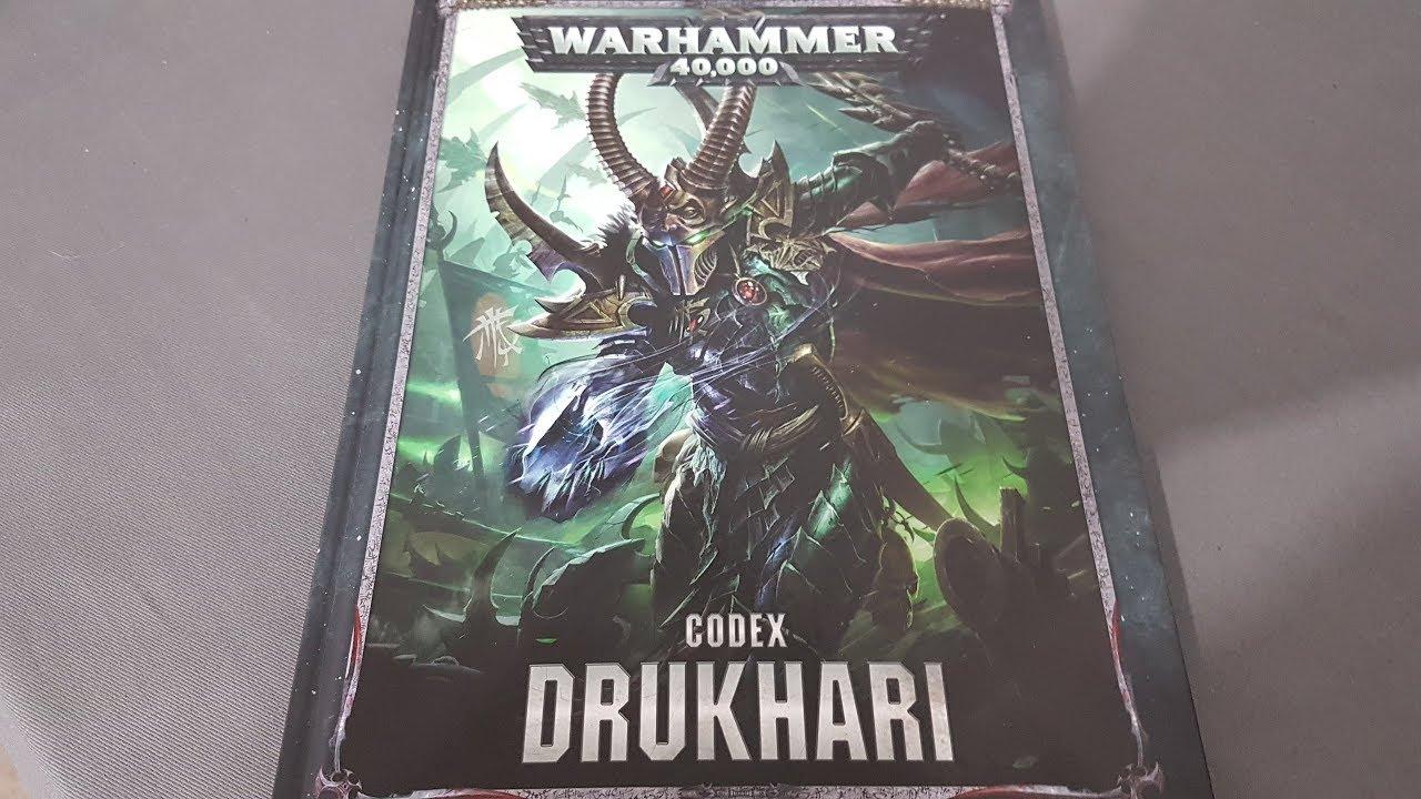 dark eldar 8th edition codex review