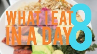 VEGAN WHAT I EAT IN A DAY 8 | VLOG 59