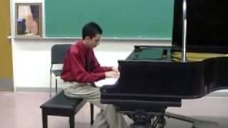 Lorenzo Lopez plays Bach: Prelude B Min, BK 2, No 24