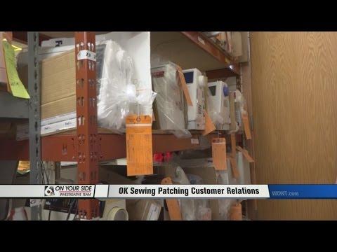 Sewing machine repair shop problem fixed