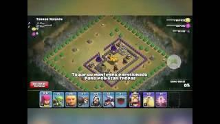 100% Terror Rolante ( Clash Of Clans ) Cv 8 ou Cv 7