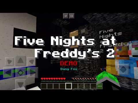 Five Nights At Freddy's 2 Demo | MCPE Minigame