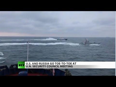 Ukraine Declares Martial Law Following Sea Clash with Russia