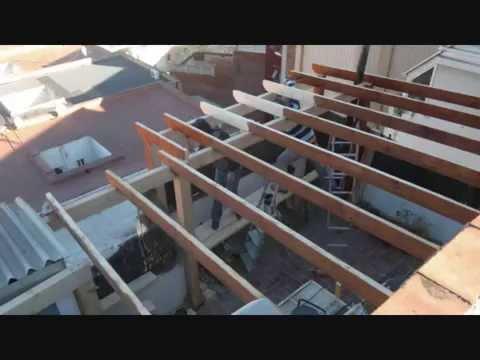 Cerramientos de terrazas en madera 6 youtube - Terrazas de madera ...