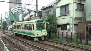 路面電車 つりかけの音 東京都電 7000形 2014/05/06.