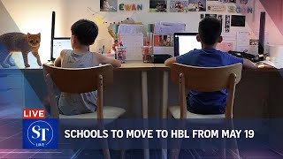 38 new local Covid-19 cases; schools to shift to full home-based learning from May 19 | ST LIVE
