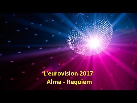 Alma - Requiem - France l'eurovision 2017 (Lyrics)