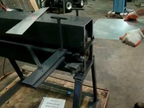Used Wilder Single Wheel Sheet Metal Slitting Machine