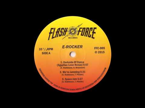 E-Rocker & Egyptian Lover - Darkside Of Dance  - electrofunk old school miami bass