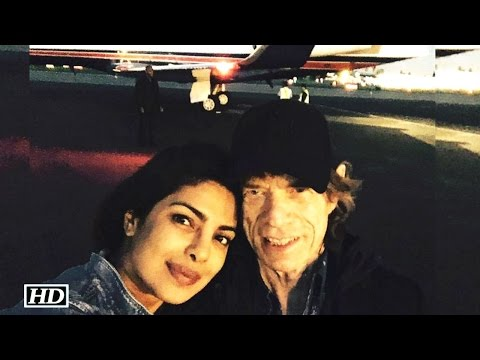 Priyanka Chopra off to OSCARS with MICK JAGGER!