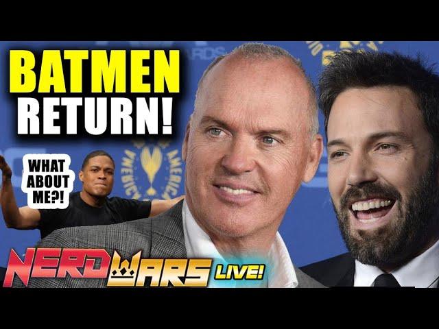 Batman Ben Affleck, Michael Keaton Return: Who Should Join Flashpoint? Plus Ray Fisher Investigation