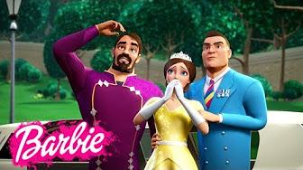 Барби СУПЕР принцесса: мультик для девочек - YouTube