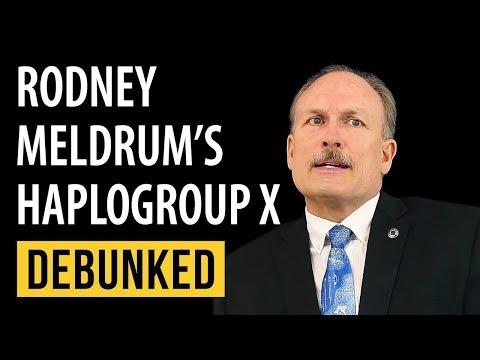 Rodney Meldrum's Haplogroup X Debunked