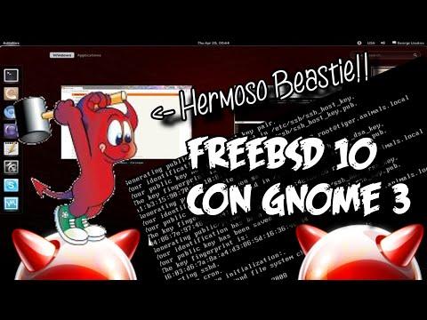 Como Instalar FreeBSD 10 Con GNOME 3 | Tutorial Completo En Español