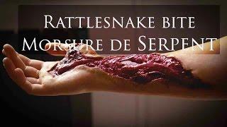 Makeup SFX - Hand Wound Tutorial / Rattlesnake Bite / Morsure de Serpent