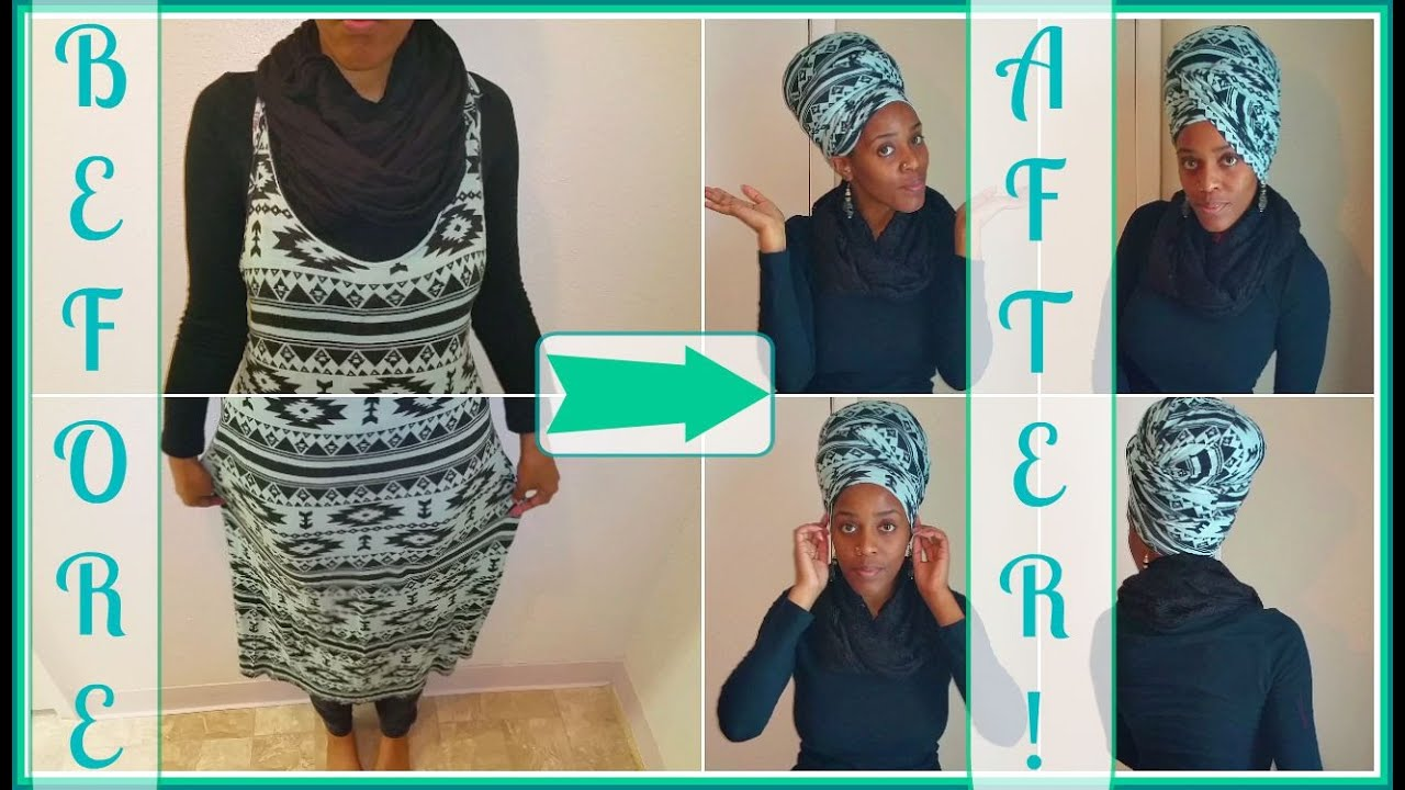 85 Diy Make Your Own Headwrap Or Turban From A Maxi Dress Tutorial You