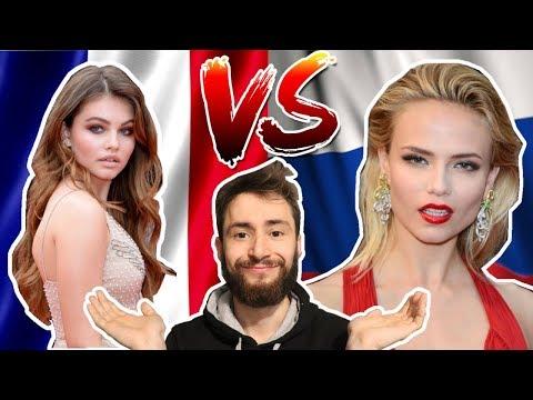 Русские Девушки против Французских Девушек