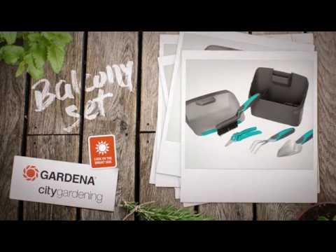 Gut GARDENA city gardening Balkon-Box - YouTube RI94